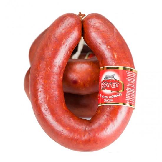 Köyet %100 Dana Eti Kangal Sucuk 1 kg